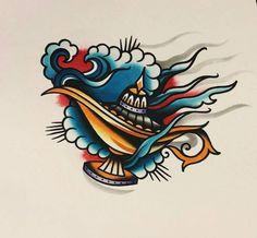 Traditional Tattoo Stencils, Tattoos, Accessories, Tattoo, Tatuajes, Tattos, Tattoo Designs, Jewelry Accessories