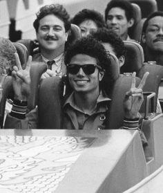 Michael Jackson on a roller coaster #MichaelJackson