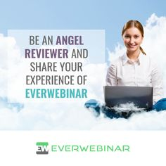 EverWebinar is the world's most powerful automated webinar platform. It simulates the live webinar experience for your customers and operates completely automated. Is EverWebinar something you've used? If so, we'd love to read your review on Angel Rated. Don't let your knowledge and experience go to waste! #review #onlinebusiness #everwebinar #webinars Online Survey Tools, Online Quizzes, Business Products, Online Business, Email Marketing, Content Marketing, Business Mission, Appointment Calendar, Instagram Advertising