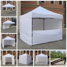AbcCanopy 10x10 Commercial Ez Pop Up Tent Canopy Gazebo Market Trade Show Booth #AbcCanopy