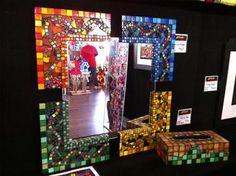 Mosaics done by my friend at Madcap Mosaics!