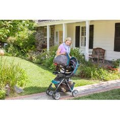 Amazon.com : Graco Comfy Cruiser Click Connect #Travel #System, Stratus : Baby ........... #TravelSystem