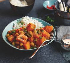 Candis magazine - Goan squash and coconut curry