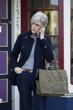 the blue and the gray | style at a certain age #overfiftyblogger