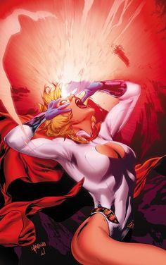 Power Girl screenshots, images and pictures - Comic Vine Heros Comics, Dc Comics Characters, Dc Comics Girls, Marvel Vs, Comic Books Art, Comic Art, Power Girl Dc, Power Girl Comics, Space Opera