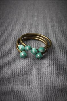 Sweet Sextet Stacking Rings in SHOP Sale Jewelry at BHLDN