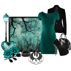 """""""Under the Stars"""" by deborah-simmons on Polyvore"""