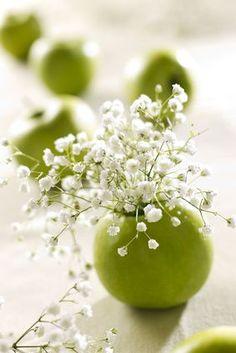 pomme grani décorée