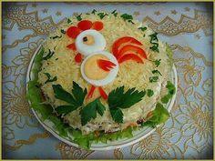 funny food - lustiges essen für gross und klein creativ zubereitet Easter Recipes, Baby Food Recipes, Cooking Recipes, Food Design, Cute Food, Good Food, Funny Food, Creative Food Art, Vegetable Carving