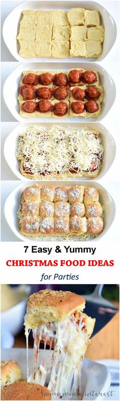 When it is Christmas you must be looking for food ideas for the family  party, office party or friends get together party. There are a lot of holiday inspired recipes  available online, but many of them take much time to prepare. We are here to  solve the issues.