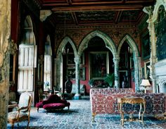 Mount Stuart House, the Scottish home of the Marquess and Marchioness of Bute (built in the late 19th century)