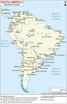 South America Map Amazon Argentina Bolivia Brazil Chile - Argentina map in south america