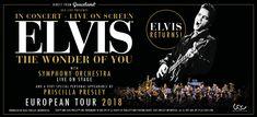 Elvis in Concert - Live on Screen al Mediolanum Forum il 14 Giugno 2018. Elvis, il Re del rock and roll, in concerto a Milano. Per la prima volta a Milano uno spettacolo unico, da non perdere per i fans e per gli amanti del grande rock.  #Elvis #ElvisPresley #Concerti #Milano