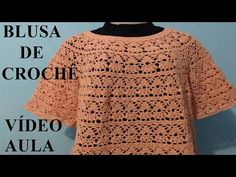 Claudia Knitted Blouse :: Part 1 - YouTube