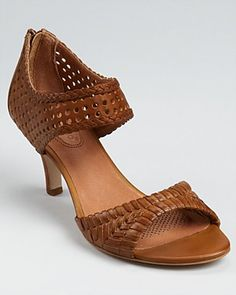Corso Como Sandals - Carnaby Perforated Mid Heel   Bloomingdale's
