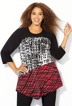 How to Wear a Graphic Print #PlusSize #Fashion