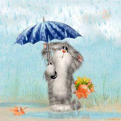 .Darle ( GIF ) y llueve