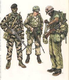 MINIATURAS MILITARES POR ALFONS CÀNOVAS: EL SOLDADO AMERICANO.- The U.S. Marine Corps por Philip Katcher = fuente , Biblioteca Militar de Barcelona