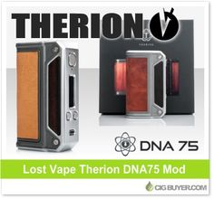 Lost Vape Therion DNA75 Box Mod – $92.99: http://www.cigbuyer.com/lost-vape-therion-dna75-box-mod/ #ecigs #vaping #lostvape #therionmod #dna75 #vapelife #vapedeals