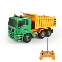 Simulation Remote Control Engineering Vehicle One Key Electric RC Tipper Dump Truck Transportation Model With Sound Light Control Engineering, Cash Register, Rc Trucks, Activity Toys, Dump Truck, Car Engine, Diy Home Crafts, Bars For Home, Power Rangers