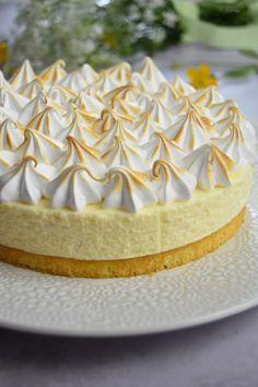 Gâteau nuage au citron meringué - Recette d'entremet