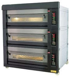 Deck Oven - but I want the one Anna Olson has on her new show Bakery Kitchen, Home Bakery, Prep Kitchen, Studio Kitchen, Bakery Cafe, Bakery Shops, Kitchen Ideas, Commercial Kitchen Design, Commercial Cooking