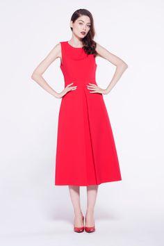 #furelle #newfashion #red #dress #polanddesigner #newcollection