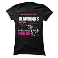 A Horse Is A Girls Best Friend T-Shirts, Hoodies. VIEW DETAIL ==►…