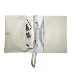 FOXY VIDA Vegan Leather Diaper Clutch SET & interior by FoxyVida