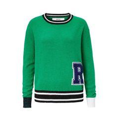 Pullover Replay, im College-Look, Sportiv & Casual, Kunstfaser Vorderansicht