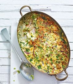 Baked-spinach-and-pea-frittata
