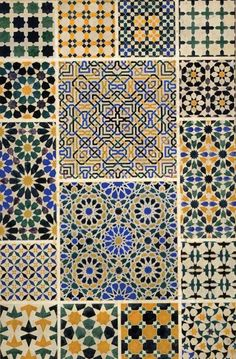 Mosque patterns from 'Grammar of Ornament'