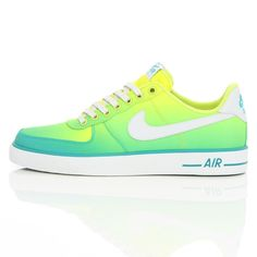 Nike Air Force 1 AC BR QS Turbo Green/White 694861-300 | Free UK Shipping and Returns