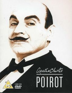 Hercule Poirot in Black Tie - DVD Cov