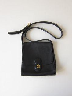 Vintage Coach Crossbody Shelburne Handbag in by ModernSquirrel