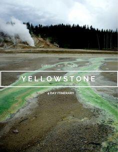 Yellowstone Itinerary