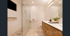 7 Marshall Avenue, Seven Hills, Qld 4170 Travertine Floors, Corner Bathtub, Real Estate, Flooring, House, Home, Real Estates, Wood Flooring, Homes