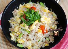 ข้าวผัดหมูแบบหนักเครื่องและอร่อยเหมือนกินที่ร้าน / Fried Rice with Pork (Thai Recipe)