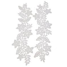 Souarts White Color Flower Neckline Lace Collar Charming Sewing Applique for DIY *** Check this awesome item by going to the link at the image.