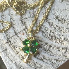 HP 12/23/154 leaf clover necklace Never worn 4 leaf clover necklace  Jewelry Necklaces