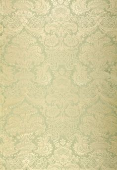 Fabric | Padova Damask Print in Sea Glass | Schumacher