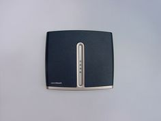 ADSL modem designed by Alfred van Elk for Alcatel | Thomson at Well Design. Top view.