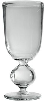 Absinthe Glass Hand-Blown Bubble-Reservoir