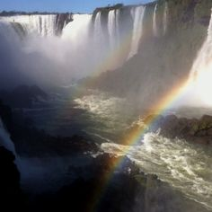 #Iguacu Falls, Brazil  Magnificent!