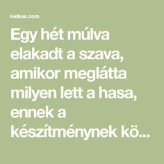 Egy hét múlva elakadt a szava, amikor meglátta milyen lett a hasa, ennek a készítménynek köszönhetően! - Ketkes.com Health Fitness, Math Equations, Beauty, Style, Health And Wellness, Cosmetology, Health And Fitness, Stylus, Excercise