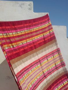 Moroccan Hand Loomed Luxurious Pure Wool Silk by HasiahsMorocco, via Etsy.