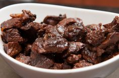Bourbon-Molasses Braised Beef