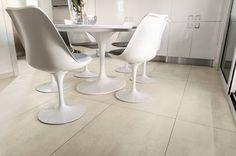 TOTAL WHITE: la potenza del bianco in#architetturae#design // the power of white in #architecture and design. #gres#Cersaie|www.dsgceramiche.it