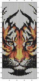 Схемы сделанные по фото изделий Bead Loom Patterns, Peyote Patterns, Beading Patterns, Cross Stitch Patterns, Beading Projects, Beading Tutorials, Beard Jewelry, Graph Crochet, Photos Du