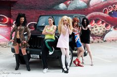 Spice Girls Group Cosplay http://geekxgirls.com/article.php?ID=2280